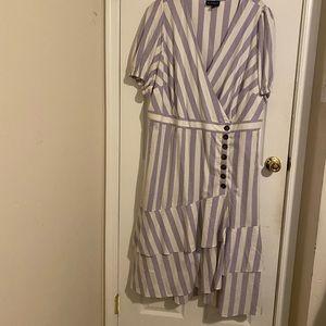 NWOT ELOQUII wrap dress